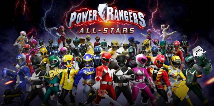 Power Rangers: All-Stars (84 MB and In-App download)