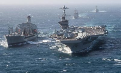 US Sending Aircraft Carrier To Persian Gulf In Show Of Force Against Iran