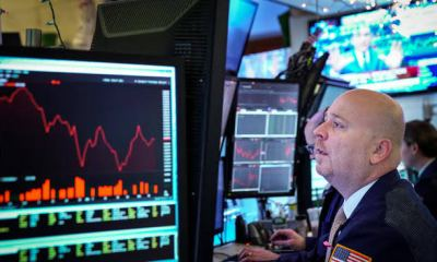 Dow Dives 800 points to below 22,000, S&P 500 enters bear market