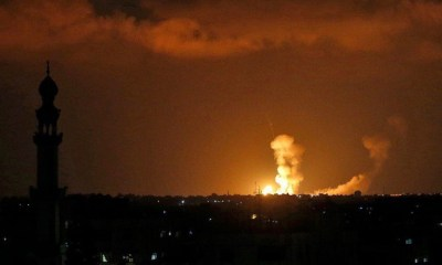 Israel Launches Strikes on Gaza, Putting 'Ceasefire' in Jeopardy