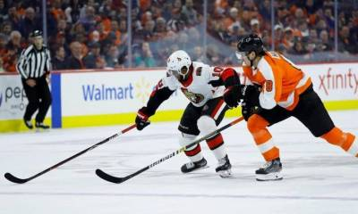 Philadelphia Flyers inch closer to East playoff spot with win over Ottawa Senators - Ottawa