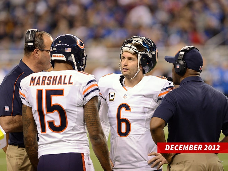 Brandon Marshall Down To Squash Beef / He's Buying, Jay Cutler Over Beer!