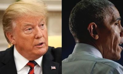 """President Trump accuses Obama on his campaign for ' ILLEGAL Spying ': """"They tried to defeat me"""""""