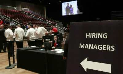 managers wait for job applicants