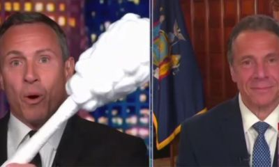 Watch: Cuomo CNN plays with the Giant Swabs, rather than the COVID answer of the Brother