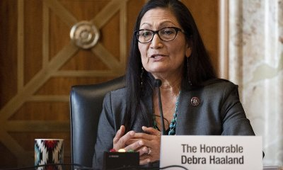 Interior approves Haaland, making him the first Native American Cabinet member.