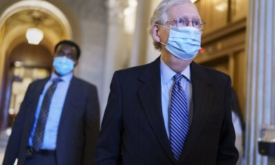 """If the Senate's filibuster is lifted, McConnell threatens a """"scorched earth"""" policy."""