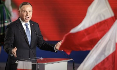 """For calling President a """"moron,"""" a Polish writer faces jail."""