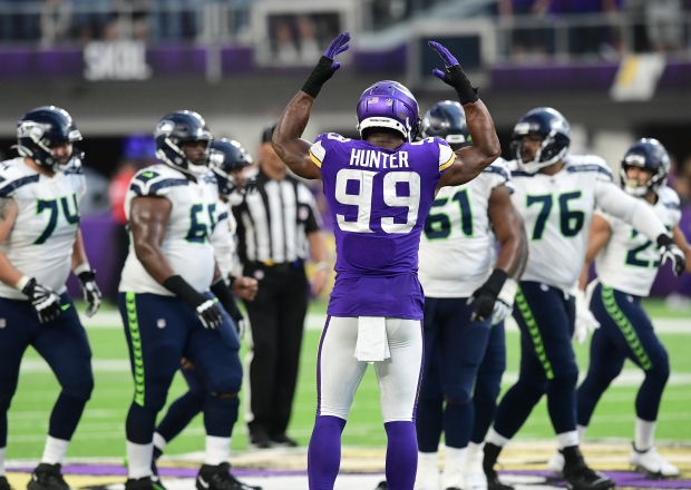 1632718613 288 Without injured Dalvin Cook Vikings swamp Seahawks 30 17 in home