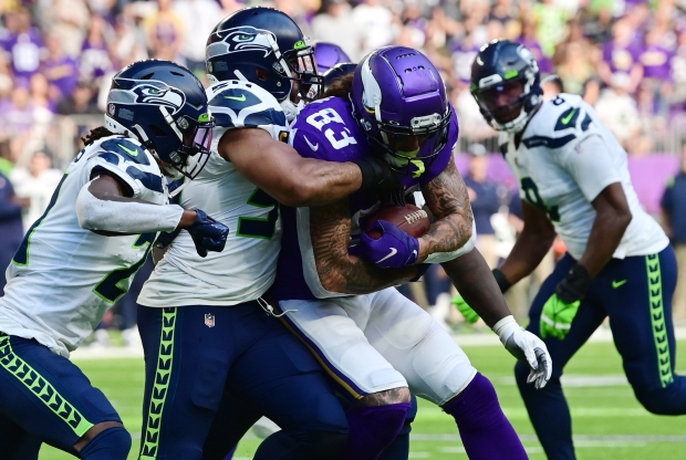 1632718615 567 Without injured Dalvin Cook Vikings swamp Seahawks 30 17 in home
