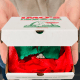 Would you say yes if your engagement ring came in an Imo's pizza box?
