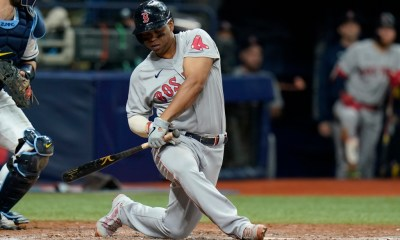 Is Red Sox 3B Rafael Devers playing hurt? 'Not everybody is 100% right now'