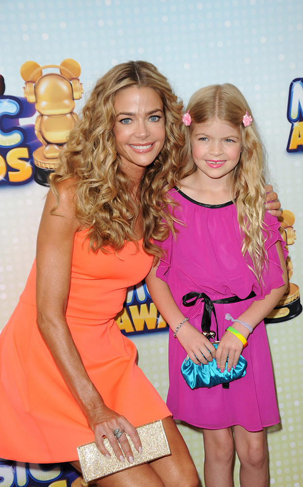 Denise Richards with daughter Lola