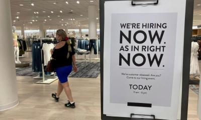 Jobless rate underwhelms as economy hovers