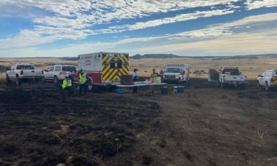 Fire in northeast El Paso County remains at 21 acres with 60% containment
