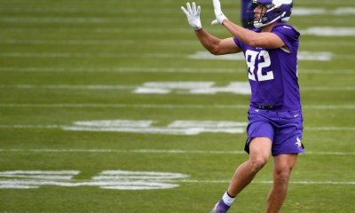 After spending time with Vikings, Spicer native Shane Zylstra 'pumped' to make Lions debut against them