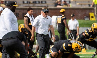 Missouri football coach after win over North Texas: 'this ain't Ted Lasso'