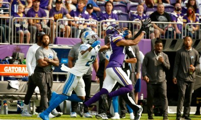 Why did the Vikings stop throwing to star receiver Justin Jefferson?
