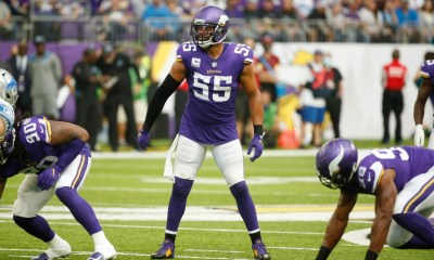 Vikings LB Anthony Barr returns to action for first time in more than a year