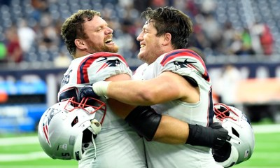 Patriots' patchwork offensive line paves way to comeback at Houston