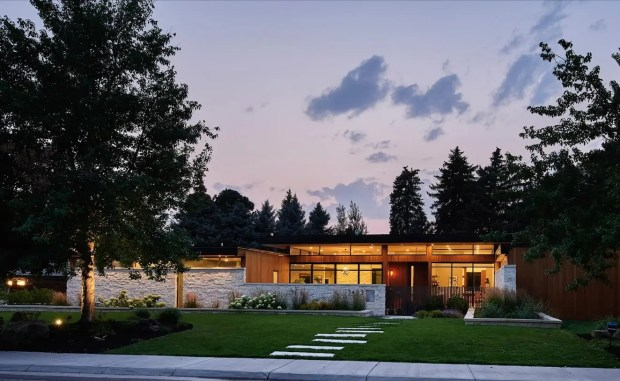 This mid-century modern Denver home sold for $5 million last month.