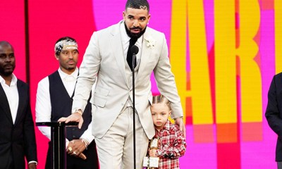 Drake Celebrates Son Adonis' 4th Birthday With Adorable New Photo From Racing-Themed Party