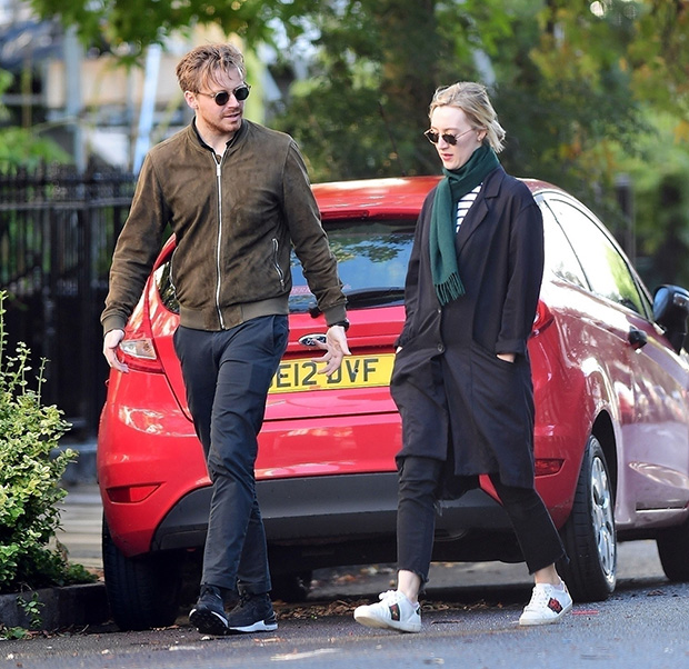 1633967407 885 Saoirse Ronan Spotted On Rare Stroll with Boyfriend Jack Lowden