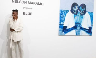 Nelson Makamo & DeLeón Tequila Host Private Dinner For Makamo's First US Exhibiton 'BLUE'