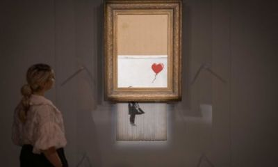 Mo' Money: Shredded Banksy Painting Sells For $25 Million During Auction