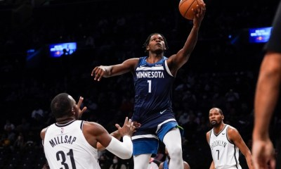 Edwards is aggressive as Timberwolves wrap preseason with loss in Brooklyn