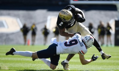 Brenden Rice, son of Jerry Rice, leads CU Buffs to 34-0 stomping of Arizona Wildcats