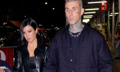 Kourtney Kardashian & Travis Barker Are Engaged! See The Massive Ring He Popped The Question With