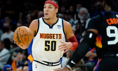 Nuggets swat Suns to seize resounding opening-night victory