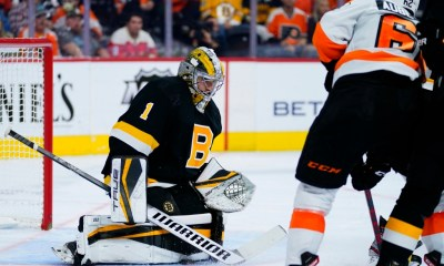 Bruins blitzed in 6-3 loss to Flyers