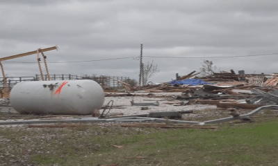 EF-2 tornado in north-central Missouri hits propane supplier business; on ground for 30 miles