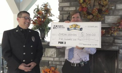 Proud to Serve: Affton firefighter engineer honored with $500 for his dedication to the community
