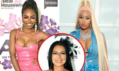 """Candiace Dillard Admits Nicki Minaj Was Hard on Her at RHOP Reunion, Says She's """"Confused"""" by Mia Feud, Plus Does She Think Costars Should Be Fired?"""