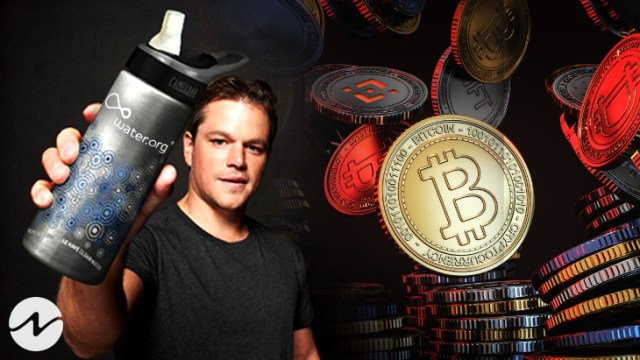 Crypto Platform Crypto.com Collaborated with Matt Damon and Water.org