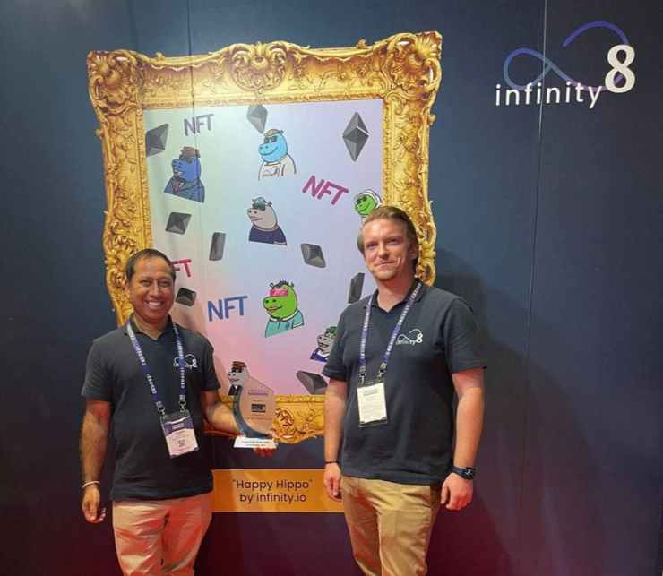 Infinity8 Recognized as Best NFT Marketplace at Crypto Expo Dubai