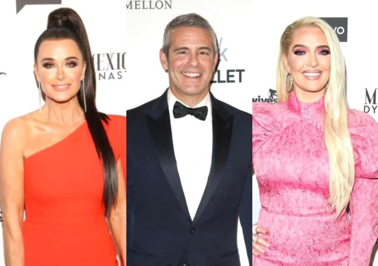 Kyle Richards Says Andy Cohen Was