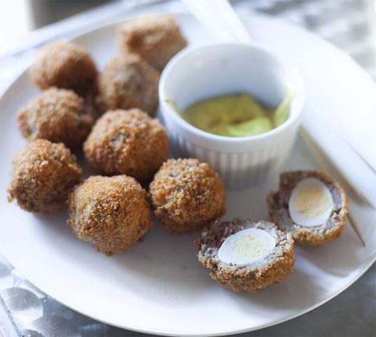 Recipes for breaded quail eggs