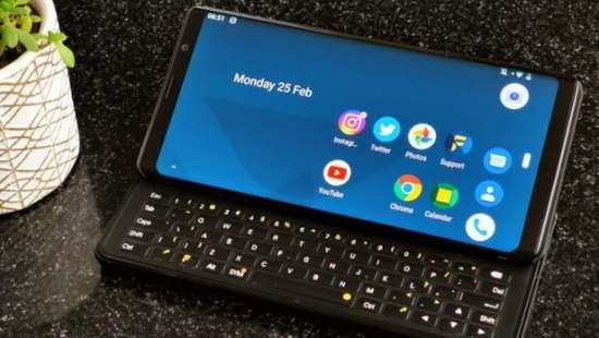Slider smart phone