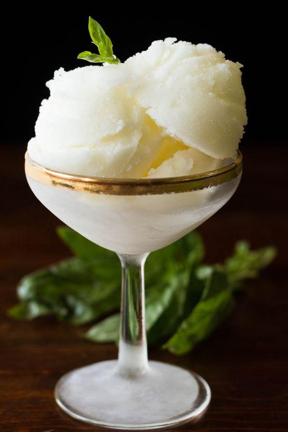 bio lime sorbet recept