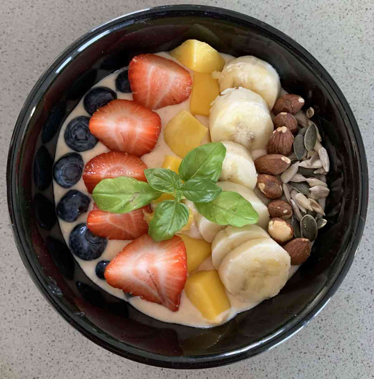 Mango smoothiebowl