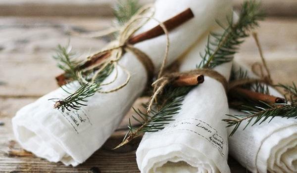 Kerstdecoratie voor op tafel  Recepten van Domy