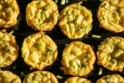 Mini Courgette Frittatas - Buzz in the Kitchen