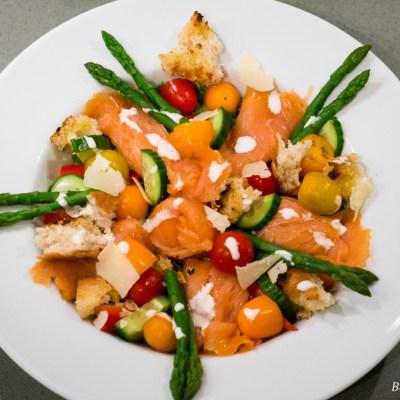 Caesar Zalm Salade recept | Buzz in the Kitchen