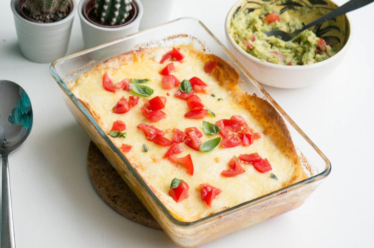 Mexicaanse Lasagna