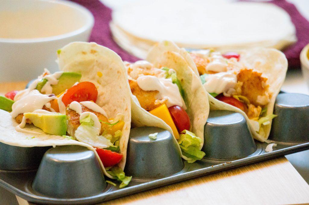 Texmex Vis Taco - Kidshoekje