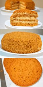 Торт сметанный Королевский